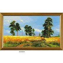 RIOLIS 1598 - A Rye Field After I. Shishkin's Painting - Cross Stitch Ki... - $45.99