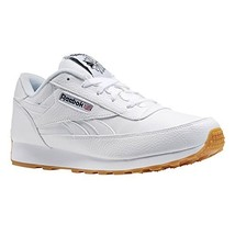 Reebok Men's Classic Renaissance Fashion Sneaker, white/black/gum, 9.5 M US - $50.77