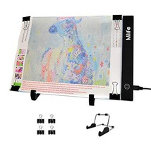 Mlife Diamond Painting A4 LED Light Pad - Dimmable Light Board Kit, Appl... - $25.05