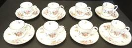 Nine Vintage Minton Marlow Demitasse Cups & Saucers - $85.49