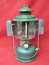 Vintage 2/62 Coleman Lantern Model 220E with Coleman Reflector - $69.29