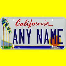 1/43-1/5 scale custom license plates any brand RC/model car - California... - $11.00