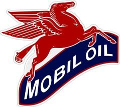 Mobil Oil Flying Pegasus Plasma Cut Metal Sign - $59.95