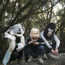 Movie sing animal mask cosplay pig koala orangutan mask full face latex mask new2 thumb200