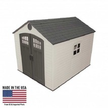 Lifetime 8x10 Outdoor Storage Shed Kit w/ Floor [60241] - $1,288.00