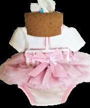 Baby Girl 3-Piece Dress Me Up Set - Bodysuit, Skirt, and Headband 6M image 2