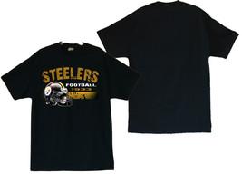 Pittsburgh Steelers Image Black T-Shirt Size (S thru 4XL) - $20.78+