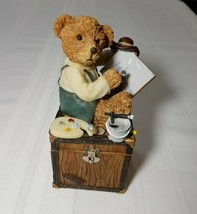 Teddy Bear Piggy Bank - Treasure Box - $14.57