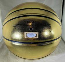 LARRY BIRD / NBA H.O.F. / AUTOGRAPHED MOLTEN GOLD FULL SIZE BASKETBALL / JSA COA image 4
