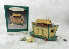 Hallmark Christmas Ornament Noah's Ark 3 Pc Set 1994 - $14.84