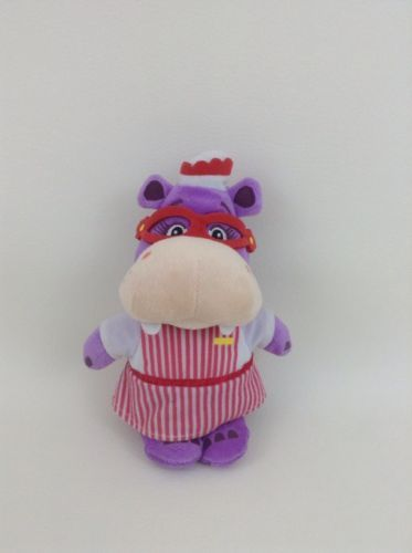 "Hallie The Hippo Plush Stuffed Toy Doc McStuffins 9"" Disney Just Play"