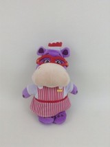 "Hallie The Hippo Plush Stuffed Toy Doc McStuffins 9"" Disney Just Play - $11.83"