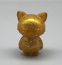Max Toy Gold Glitter Mini Cat Girl - Mint in Bag image 2