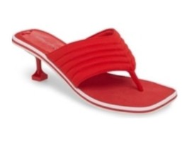 Jeffrey Campbell Overtime sporty, stiletto thong sandal, red 9.5M - €127,63 EUR