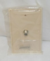 GE 73329 Coax Wall Plates Ivory Six Pack For F Type Cables image 2