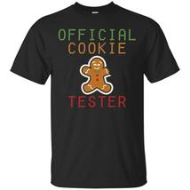 Official Cookie Tester Cute Christmas Winter Tshirt - $13.95+