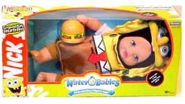 NEW Spongebob Squarepants Waterbabies Water Baby Doll 2006 Nickelodeon P... - $169.99