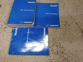 2004 Mazda 3 MAZDA3 Service Repair Shop Workshop Manual Set W EWD + Highlights - $143.50