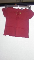 Very Cute Size 24 Month Flower Print Shirt TAC1018 - $1.00