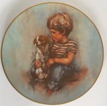Johnny and Duke Plate Boy Dog Gorham Fine China Leo Jensen Prince Tatters Series - $7.91