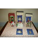 Hallmark 2001~2003 Safe & Snug Porcelain Complete Series - $29.99