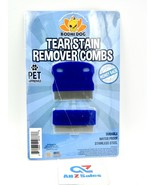 Bodhi Dog Tear Eye Stain Remover Combs, Set of 2. Best for Dog and Cat F... - $12.82