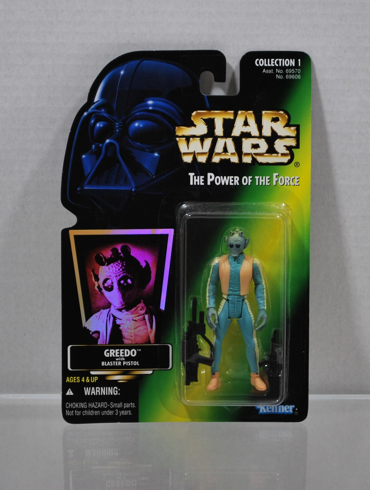 Star Wars The Power of the Force Greedo Collection 1  1996