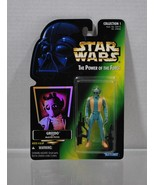 Star Wars The Power of the Force Greedo Collection 1  1996 - $2.10