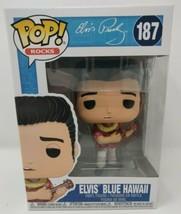 Funko Pop Rocks Elvis Presley™ Elvis™ Blue Hawaii Vinyl Figure #40139 - $28.49