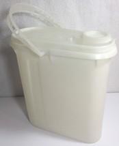 Vintage Tupperware Sheer Beverage Buddy Pitcher w/ Handle 587-2 FREE SHI... - $14.91