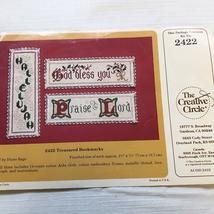 Scripture Bookmarks Cross Stitch Kit Creative Circle 2422 Hallelujah Pra... - $10.89
