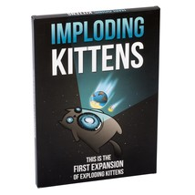 Card Game Imploding Kittens: This is the First Expansion Pack Exploding ... - $18.88