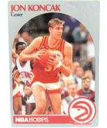 1990 NBA Properties NBA Hoops Atlanta Hawks Jon Koncak Center  - $1.53