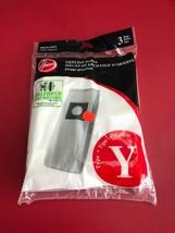 GENUINE HOOVER Y Vacuum Cleaner Bags  Allergen Filtration 4010100Y - $7.18