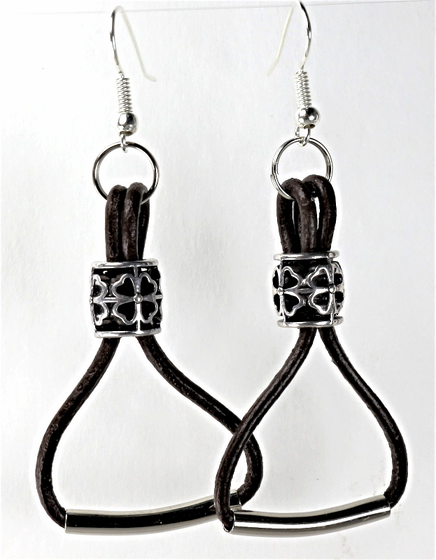 Primary image for Handcrafted  Leather Earrings