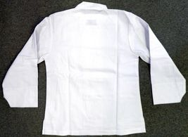 Dickies Chef Coat Jacket S CW070309A Restaurant Button Front White Uniform New image 4