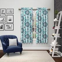 Pairs to Go 15616056X063BLU Bradway 56-Inch by 63-Inch Window Curtain Pa... - $19.15