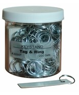Tag & Ring 200 Sets of Tag & Ring for Hanging Keys with ID Tag on Keystand - $9.46