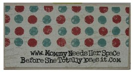 www.mommy...sign by Ganz - $7.95