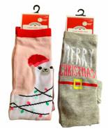 New Holiday Time Knee High Socks - Merry Christmas - Size 4-10 - $16.99