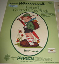 Vtg Authentic Hummel Designs in Counted Cross Stitch Book 5073 Vol 1 508... - $3.95