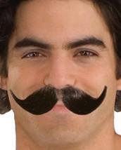 Mustache Forum Novelties Mens Human Hair Full Winged Mustache  Brown - $8.49
