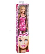 barbie Mattel Special Style Barbie Doll pink dress - $13.81