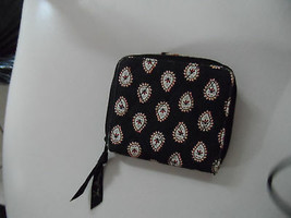 Vera Bradley bifold wallet in Black and red retired pattern - $10.00