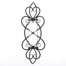 HEART SHAPED CANDLE WALL SCONCE - $44.78