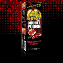 16 Oz HIGH VOLTAGE DOUBLE FLUSH POMEGRANATE Detox Cleanser DRINK W CAPSULES - $19.59