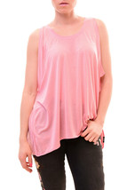 Diesel Women's Authentic Stylish T-Kubo Top Pink Size M RRP £62 BCF710 - $57.09