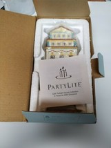 Partylite Cafe Amsterdam Tealight House Candle Holder P8275 Original Box... - $34.60