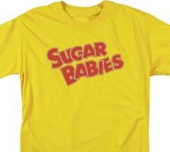 Sugar Babies logo t-shirt tootsie roll retro 80's candy graphic tee TR114 image 2