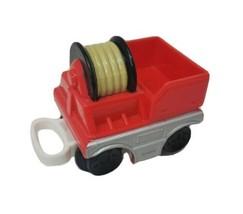 Fisher Price Geo Trax Rouge Feu Camion Tuyau Chariot Véhicule Pièce de R... - $9.57